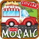 Animated Puzzles cars city by booktouch