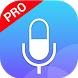 voice recorder pro by recorder & smart apps