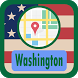 USA Washington Maps by USA Maps and Street DIrections