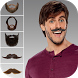 Man Mustache Beard Face Editor by Alex Sparrows Apps