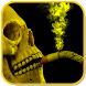 2DSmoking Skull Live Wallpaper by Abdul Ghafoor