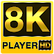 8k ultra hd video player (8k full hd player) by thehelpfultech