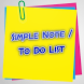 Simple Note/To Do List by Sharper