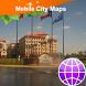 Laredo Street Map by Dubbele.com