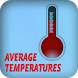 Average Temperature by Flower Apps