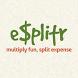 eSplitr - split expenses by Kriateiv LLC