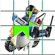 Slide Lego Police Puzzle Game by Cholada