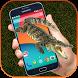 Big Crocodile in Phone Screen