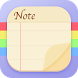 Notepad: Sticky Notes & Memo by M.T Player