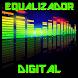 Equalizador Gráfico Digital Alta qualidade de Som by Ana Lima Designer