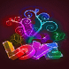 Colorful Love Shine LWP by Daksh Apps