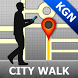 Kingston Map and Walks by GPSmyCity.com, Inc.