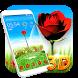 Rose Love 3D Theme by 3D Theme Studio