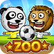 Puppet Soccer Zoo - Football by NOXPLAY - big head puppet sports for kids