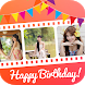 Birthday Photo Video Maker by Video Maker & Video Editor Studio