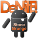 Stone Grunge Orange CM11 Theme by DeNitE