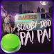 Scooby Doo Papa Pinback Button