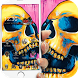 Colorful Skull Graffiti by Beauty your phone