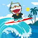 Doraemoon surfer in beach by medyou game