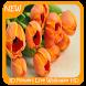 3D Flowers Live Wallpaper HD