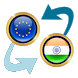 Euro x Indian Rupee by Currency Converter X Apps