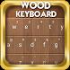 Wood Go Keyboard by mdnart