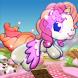 A Unicorn Cake Jump by Astrea Wong