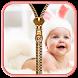 Cute Baby Zipper Lock Screen by Zipper Lock Screen Free