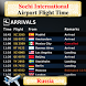 Sochi Airport Flight Time by AsoftTech Solutions
