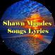 Shawn Mendes Songs Lyrics by Aura Azzirra