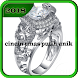 cincin emas putih unik by Dodi_Apps