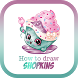 How To Draw Shopkins by how 2 draw