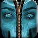 Skull Zipper Screen Lock by arrowshapes