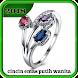 cincin emas putih wanita by Dodi_Apps