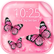 Pink Butterfly Live Wallpaper by Top Trending Apps