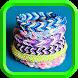 Плетение браслетов из резинок by lionidd