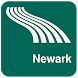 Newark Map offline by iniCall.com