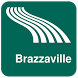 Brazzaville Map offline by iniCall.com