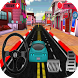 Driving car in city by prodevapp