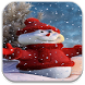 Snowman Live Wallpaper by Tyron
