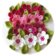 Easy Crochet Flower Patterns by Banikox