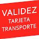 Validez Tarjeta Madrid