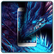 Neon Blue Dragon Theme by Cool Wallpaper