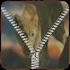 Lion Zipper Lock Screen by Dhwani Infotech