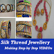 Silk Thread Jewellery Making Step by Step VIDEO by Master Super Apps