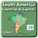 South America Countries by Gbury Apps