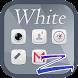 White - ZERO Launcher by morespeedgoteam