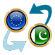 Euro x Pakistan Rupee by Currency Converter X Apps