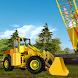 3D Heavy Crane City Construction