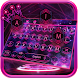 Pink Purple Galaxy Keyboard by Keyboard Creative Park